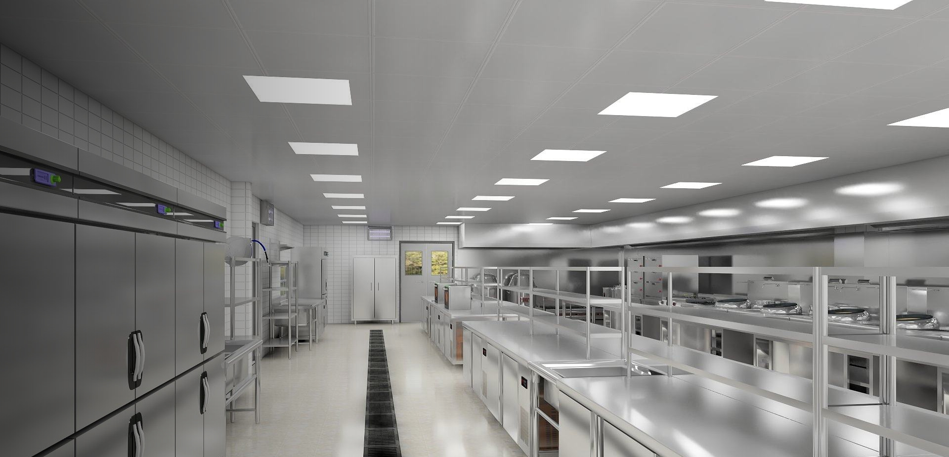 INTELLIGENTAL DESIGN FOR COMMERCIAL KITCHEN OPERATION AND MANAGEMENT FROM JIULONG